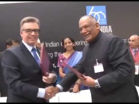 India, Germany sign three MOUs