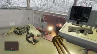 GTA 5 five star military raid first person view