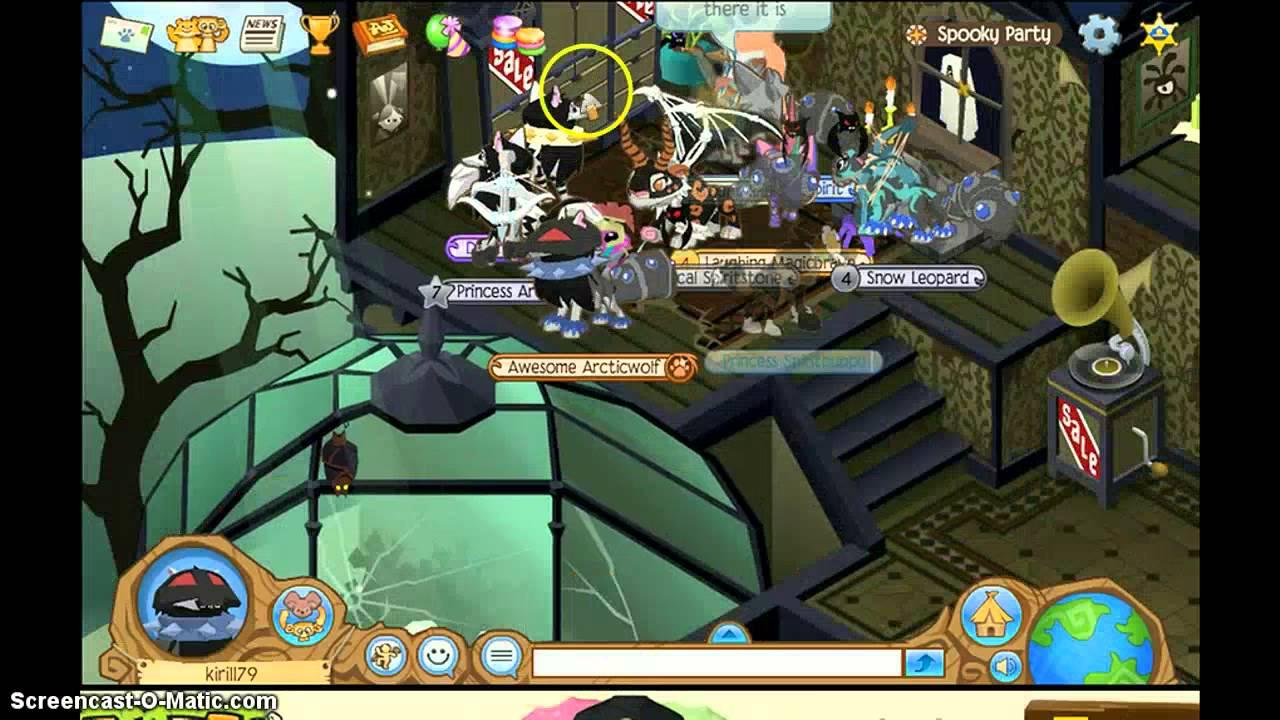 animal jam halloween party 2013 youtube