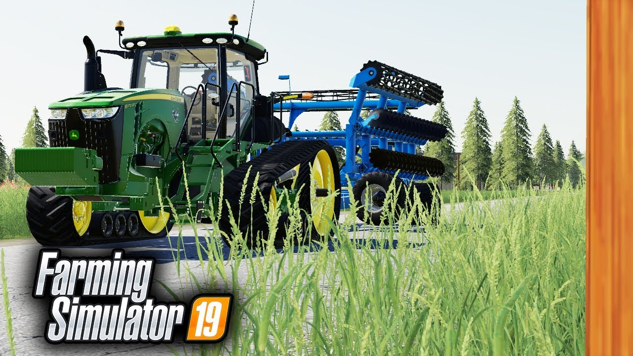 8RT WORKING HARD PULLING ITS WEIGHT AROUND THE FARM | FS19