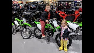 Dirt bike shopping with a twist (Super Duper)