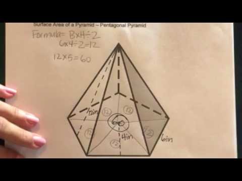How many number of faces does a pentagonal prism have
