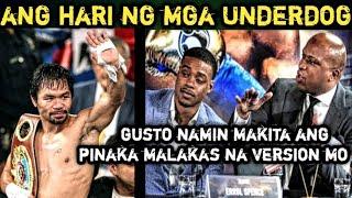 Pacquiao HARI ng mga Underdog at Trainer ni Spence Gusto makita ang Malakas na Pacquaio