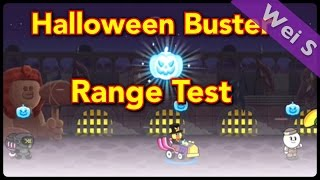 【Wei S】Count Sally: Halloween Buster Range Test 伯爵莎莉:萬聖節破壞王範圍測試  (LINE Rangers)