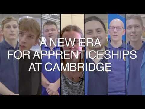 A new era for apprenticeships at Cambridge