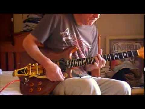 Alembic Guitar clean tones with some breakup with Bigs tremelo