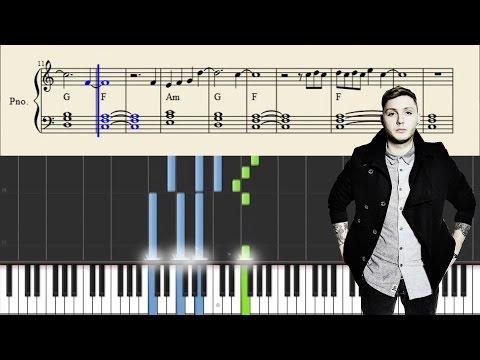 James Arthur - Say You Won't Let Go - EASY Piano Tutorial + SHEETS