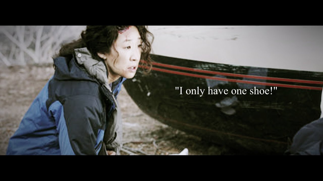 Greys Anatomy Funny Cristina Plane Crash Compilation Youtube