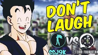 TFS VS SSJ9K!! Which is Funnier?! Try not to Laugh Challenge - Dragon Ball Z Edition thumbnail
