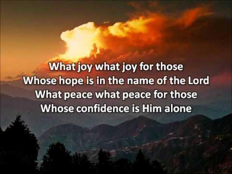 What Joy (Psalm 146) - Sarah Emerson (with lyrics) - YouTube