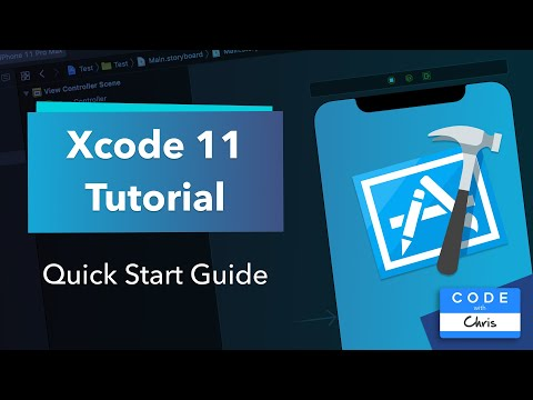 Xcode Tutorial for Beginners - (using the new Xcode 11) thumbnail