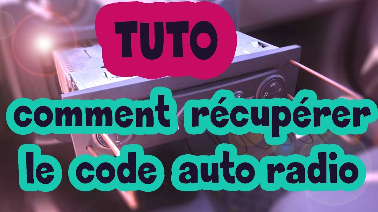 tuto comment r cup rer le code auto radio renault how to get radio code for your renault hd. Black Bedroom Furniture Sets. Home Design Ideas