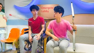 WE HAD TO GO TO THE EMERGENCY ROOM!!