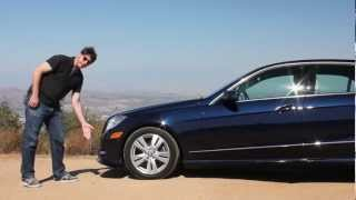 2013 Mercedes-Benz E350 BlueTEC Diesel Test Drive & Luxury Car Video Review
