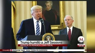 Donald Trump humilló a Jeff Sessions: The New York Times Free HD Video
