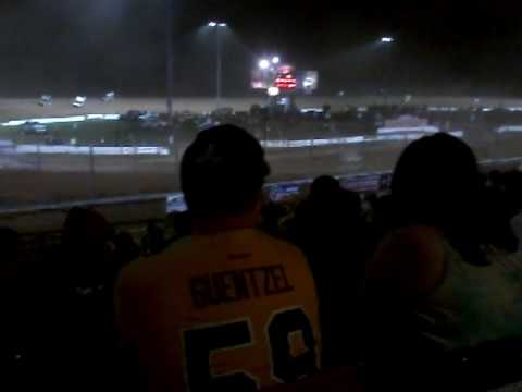 World of Outlaws Sprint cars at Lernerville Speedway July 17, 2017 part 1