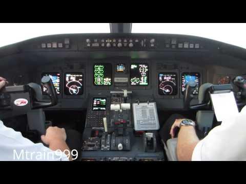 Crj200 Cockpit Takeoff, Dtw #3