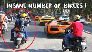 Bikers chase 17 Lamborghinis | #132
