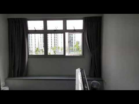 Rivervale Delta-Day & Night Curtains in Grey neutral colour