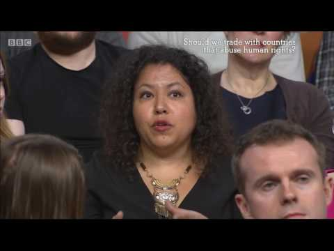 BBC One: The Big Questions - Trade With Human Rights Abusers