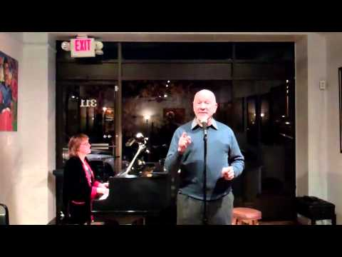 "Chuck Lavazzi Sings ""Those Were The Good Old Days"" At The Cabaret Project Open Mic Night"