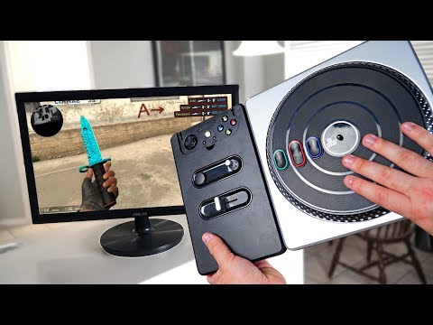 DJ Hero controller works on CS:GO and it's AMAZING