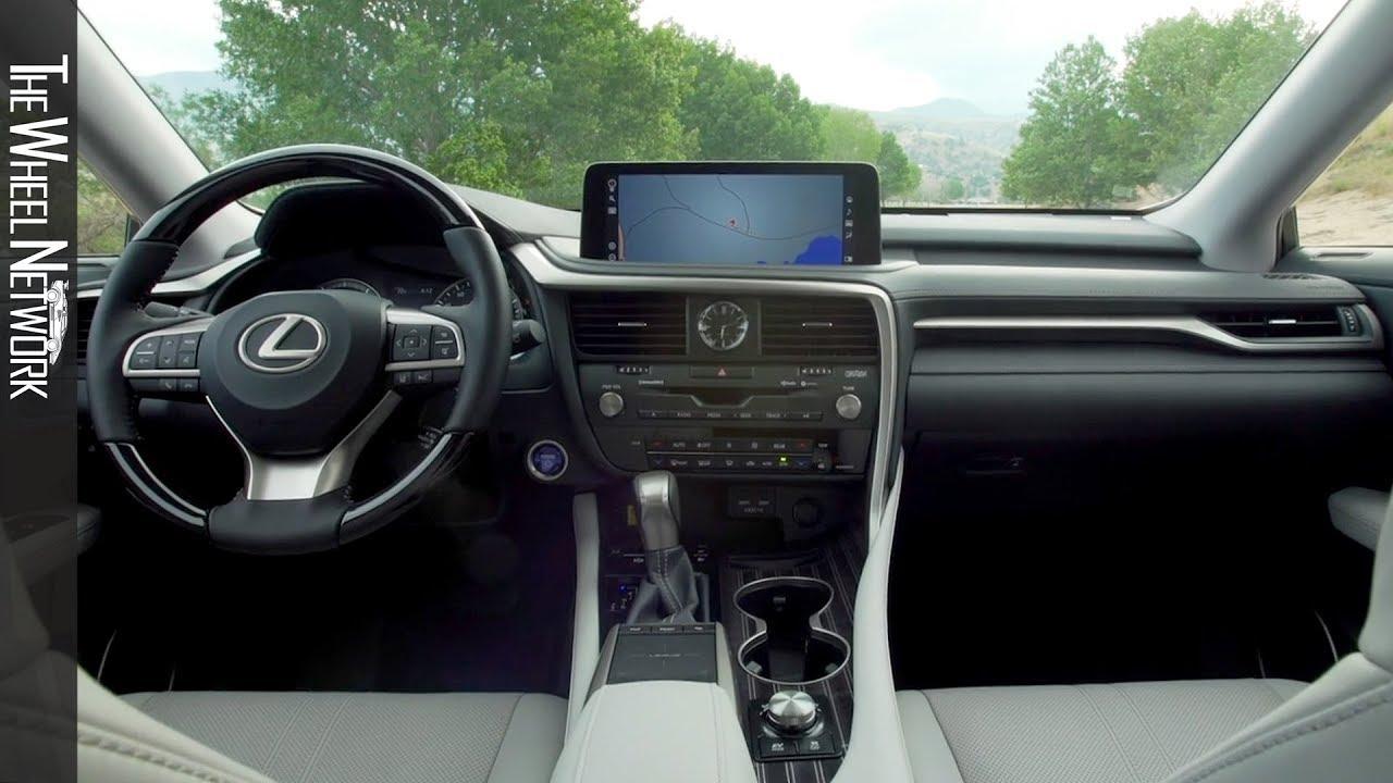 2020 Lexus Rx 450hl Interior
