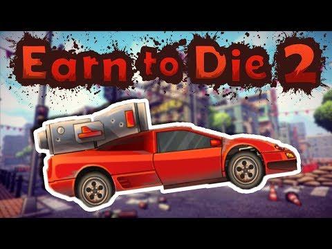 I GOT A RACE CAR!?!?! | Earn to Die 2