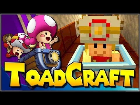 Los Toadbonitas!!! | 02 | ToadCraft (Super Mario Minecraft)