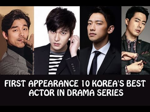 FIRST DRAMA SERIES OF 10 KOREA'S BEST ACTOR