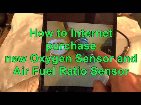 How to Internet purchase new Oxygen Sensor and Air Fuel Ratio Sensor