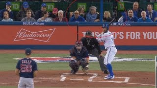 Mystery solved: The mystery woman behind home plate at Blue Jays games?