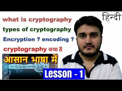 Cryptography ( Encryption ) and its types - the backbone of security of networks and computers