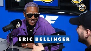 Eric Bellinger talks new Projects with Hip Hop Mike | HOT97