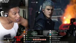 Etika Reacts to Devil May Cry 5 E3 Reveal gameplay