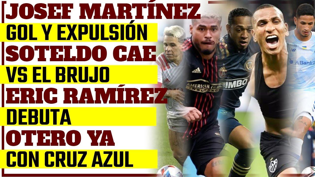 De JOSEF MARTÍNEZ, YEFERSON SOTELDO, ERIC RAMIREZ, ROMULO OTERO Y BRUJO MARTÍNEZ