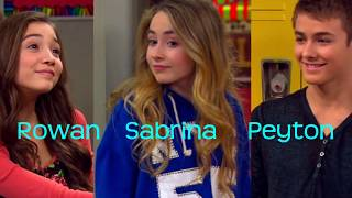 Peyton Meyer and Rowan Blanchard VS Peyton Meyer and Sabrina Carpenter