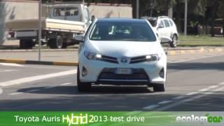 Toyota Auris Hybrid 2013 test drive