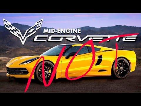Corvette C8 Mid Engine is False    Hear me out!