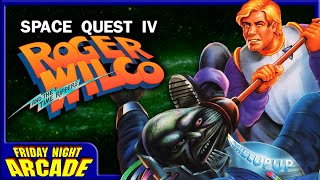 Space Quest IV: Roger Wilco & the Time Rippers - MS-DOS Game Review | Friday Night Arcade