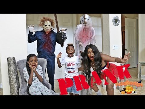FUNNY HALLOWEEN PRANK ON THE WHOLE FAMILY