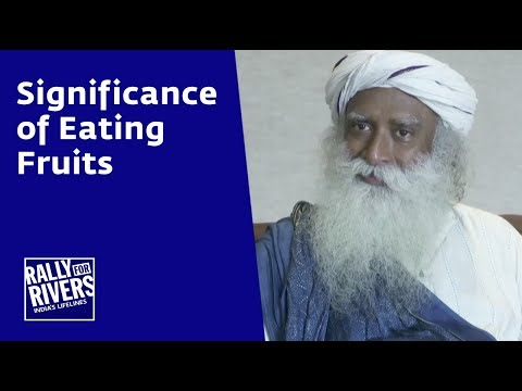 Significance of Eating Fruits