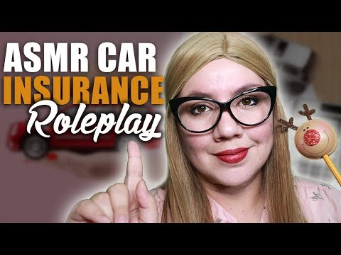 CAR Insurance Quote 🚗 ASMR RoIePIay 🚗 Soft Spoken and TYPING SOUNDS for Sleep