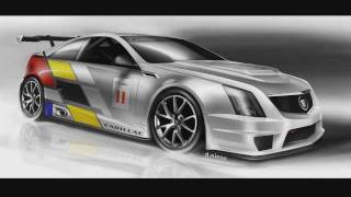 2011 Cadillac Cts-v Coupe Scca Race Car (renderings And Construction)
