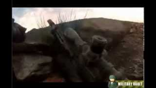 FIREFIGHT - Snipers Nest Pinned Down By Enemy Fire - Helmet Cam Combat Footage