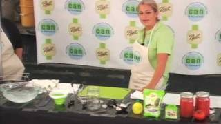 Canned Tomatoes Packed in Own Juice Canning Demonstration