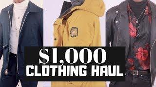 $1,000 Clothing Haul BooHoo Man and ASOS | PrettyBoyFloyd 🌹
