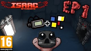 The Binding Of Isaac Afterbirth Ep1, Transformación Epiléptica!