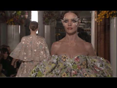 Valentino Couture Spring Summer 2019 Fashion Show