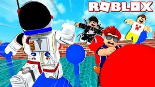 FUNNIEST PARKOUR TOURNAMENT EVER!! - ROBLOX WIPEOUT